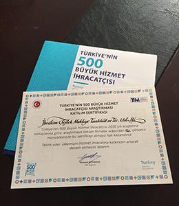 Türkiye'nin 500 Büyük